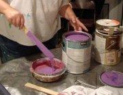 color wheel helps mix paint colors