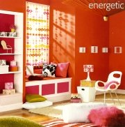 bright red paint shades