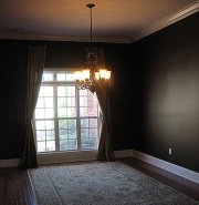 Room paint colors for dark spaces tips for interior paint Black room color schemes