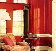 bold interior color scheme