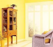bright interior color scheme