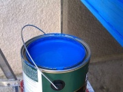 color matching paint in a paint store