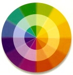 complex paint color wheel