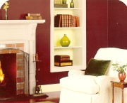 deep red paint shades