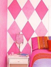 Hot Pink Paint Colors & Pink Paint Colors and Shades; Ideas for Painting Pink Walls