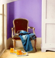 bold purple paint colors work better as accents