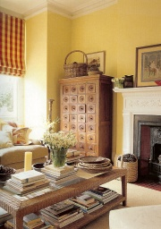 soft shades of yellow