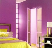 strong purple paint colors can be irritating