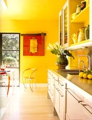 Wall Paint Yellow Shades : Shades of Yellow Paint Color - Ideas for Painting Yellow Walls