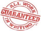 Our NJ house painter guarantee