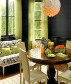 black walls go with every color
