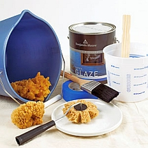 Sponge painting tools and supplies