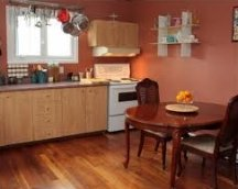 soft orange paint colors for kitchen walls