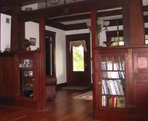 stained woodwork