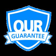 Our guarantee badge