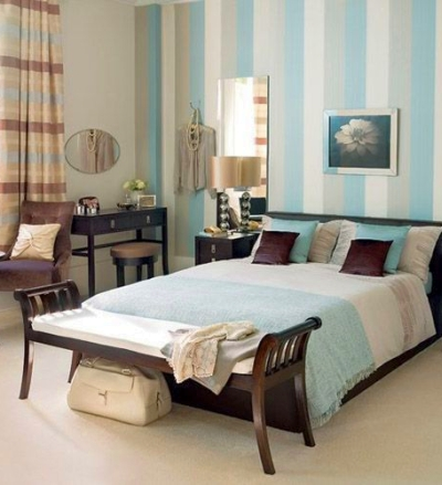 Use fabric for your stripe color inspiration