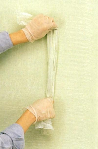 Crosshatching wet glaze with vertical strokes