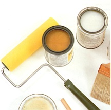 Gather the tools and materials you'll need for rag painting