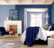 Blue is the most popular paint color