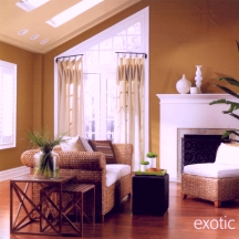 Brown as a painting and decorating color is easy to overdo