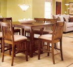 when choosing a paint color for a dining room, keep the focus on the table