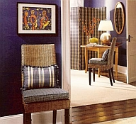 choosing interior paint colors from art