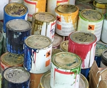 Find free paints by asking around