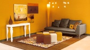 decorating and paint color styles can be mixed