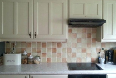 Faux Painting Kitchen Surfaces Walls Cabinets Floors Countertops