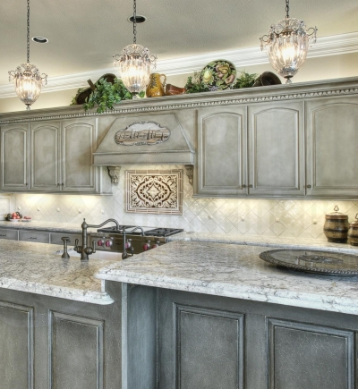 Faux Painting Kitchen Surfaces Walls Cabinets Floors