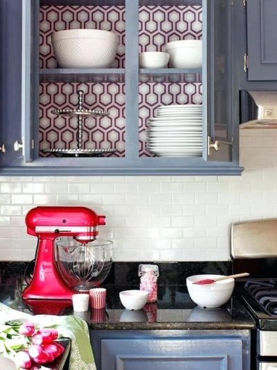 faux painting kitchen countertop tiles