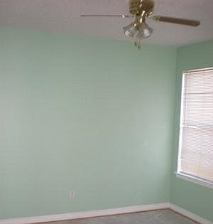 Green paint colors are great for a nursery Calming colors for baby nursery