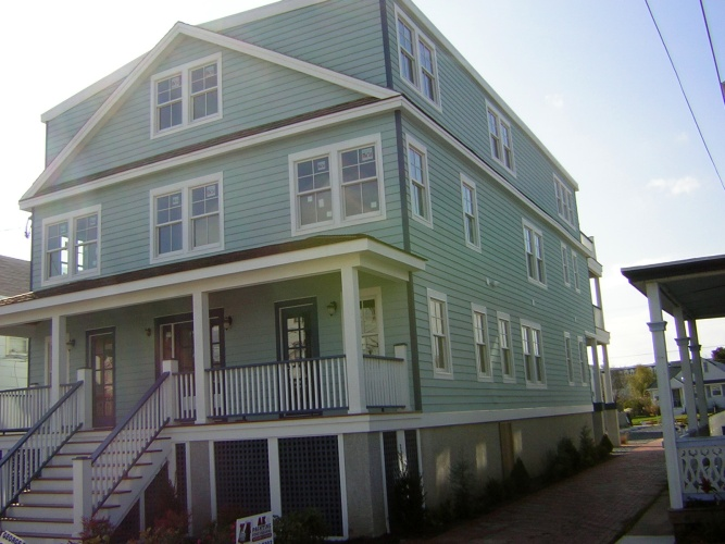 After: painted and protected exterior