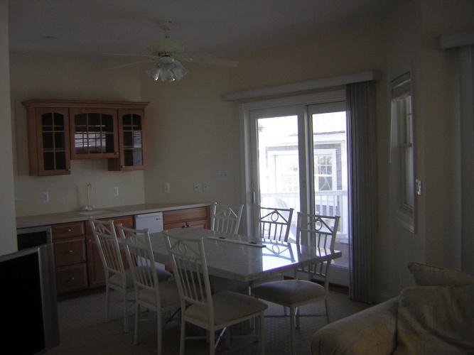 Before: bleak looking kitchen walls