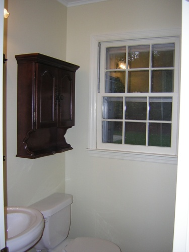 Before: uninteresting powder room