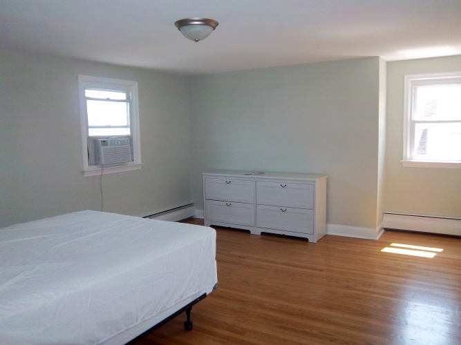 After: subtle wall color makes a difference