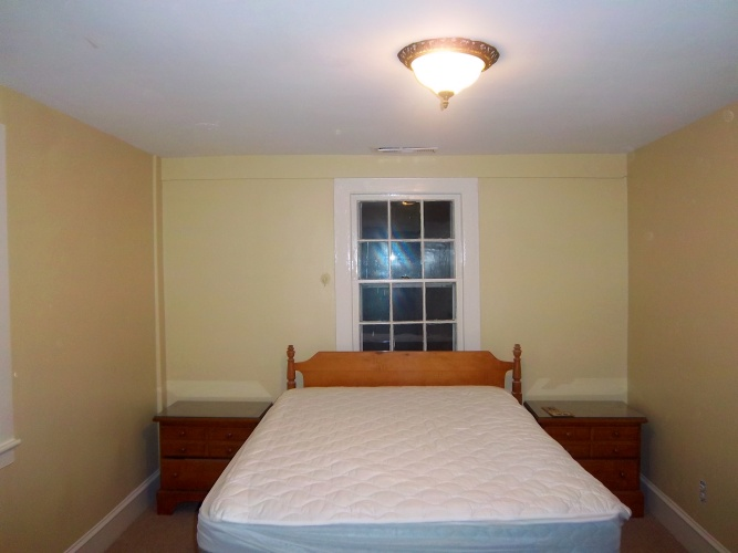 After: painted walls look more inviting