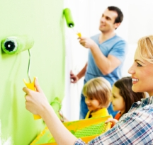 Real life house painting projects are not always fast and easy