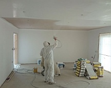 New construction painting