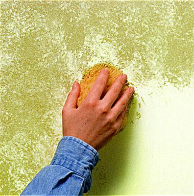 An old sponge can ruin your paint finish