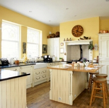 Kitchen painting ideas and kitchen design colors by style - Ideas for kitchen wall colors ...