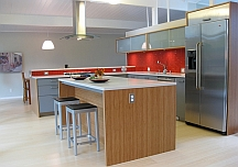 modern kitchen painting idea