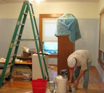 House painting takes longer than you think