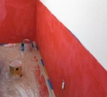 Blotchy paint job