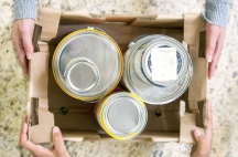 Offer your unwanted paints to others who can reuse them