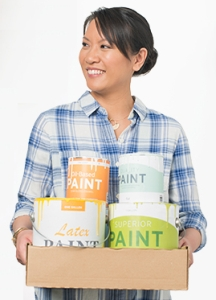 Try to recycle paint before disposing of it