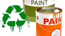 Recycled paints can be used for different purposes