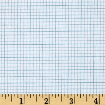 Lay out the striping pattern on graph paper