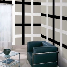 Pay attention to corners when planning your stripe pattern