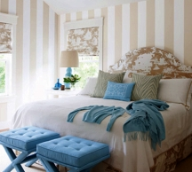 Vertical wall stripes are most popular